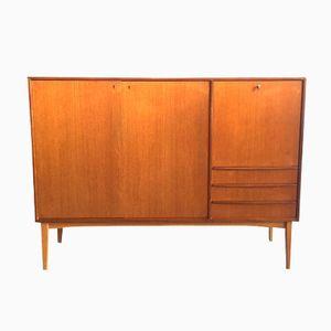 Scandinavian Teak Sideboard with Three Drawers, 1960s