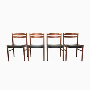 Mid-Century Dining Chairs by Carl Ekström for Johansson & Söner, Set of 4