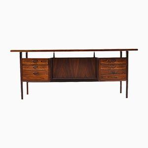 Large Mid-Century Model FM Desk by Kai Kristiansen for Feldballes