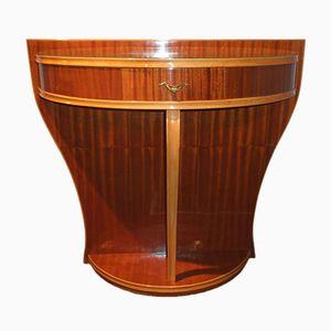 Art Deco Mahogany Console Table, 1940s