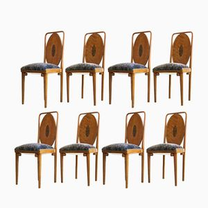 Antique Chairs from Jacob & Josef Kohn, Set of 8