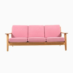 Mid-Century GE-290/3 Oak Sofa by Hans J. Wegner for Getama