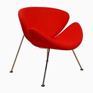 Vintage Orange Slice F 437 Lounge Chair by Pierre Paulin for Artifort