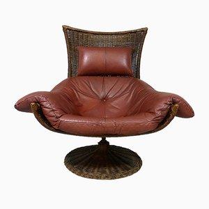 Swivel Lounge Chair by Gerard van den Berg for Montis
