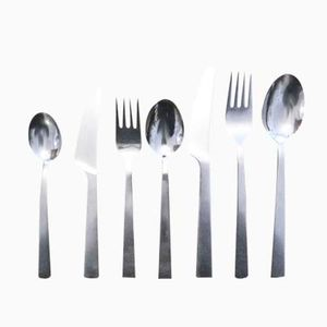 Triennale Cutlery by Bertel Gardberg for Fiskars, 1957, Set of 43