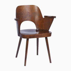 Chaise avec Accoudoir par Oswald Haerdtl pour TON, 1960s