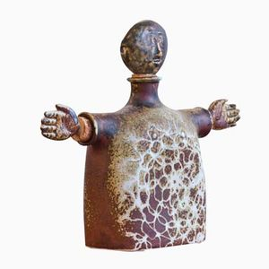 Carafe en Grès par Stig Lindberg pour Gustavsberg, 1960s