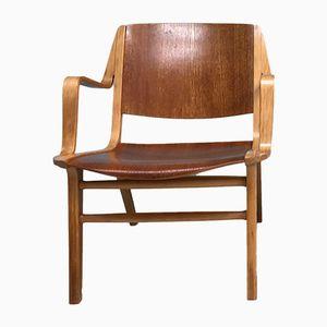 Ax Stuhl von Peter Hvidt & Orla Molgaard-Nielsen für Fritz Hansen, 1960er