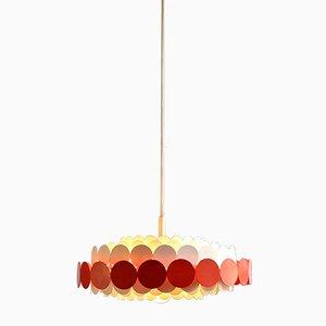 Metal Suspension Light from Doria Lichtenwerken, 1960s