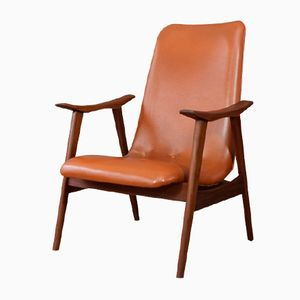 Dutch Angular Armchair, 1960s