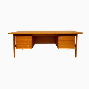 Mid-Century Large Executive Desk, 1960s