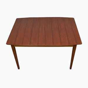 Mid-Century Walnut Extendable Table from Maple