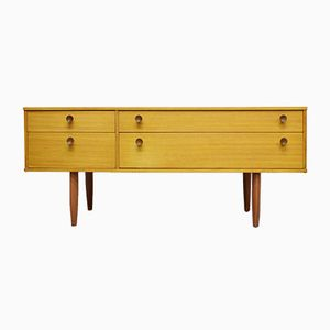 Mid-Century Vintage Teak Chest of Drawers from Avalon