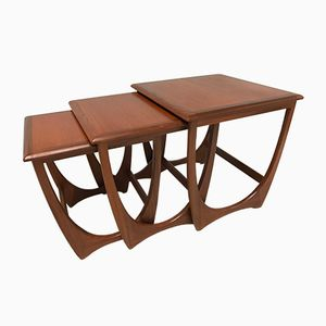 Nesting Tables in Teak from G-Plan, 1960s