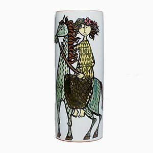 Mid-Century Karneval Vase by Stig Lindberg for Gustavsberg
