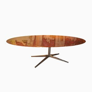 Vintage Marble Top Table by Florence Knoll for Knoll