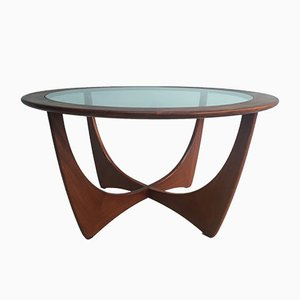English Solid Teak Coffee Table from G-Plan, 1960s