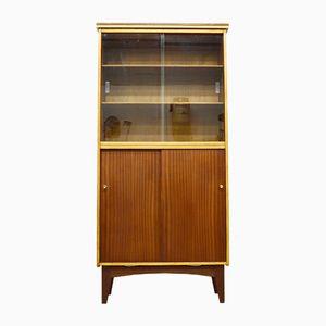 Mid-Century Teak & Glass Display Cabinet, 1960s