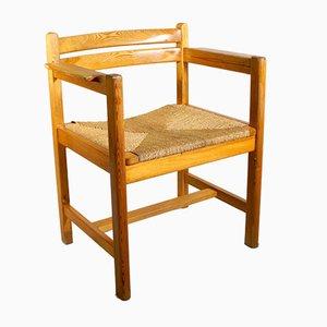 Vintage Asserbo Armchairs by Børge Mogensen for Karl Andersson & Söner, Set of 4