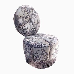 Slipper Sessel aus Aluminium von Mark Brazier-Jones
