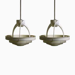 Russische Saturn Lampen, 1950er, 2er Set