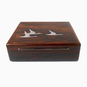 Mid-Century Brazilian Rosewood Box by Robert Dalgas Lassen, 1960s