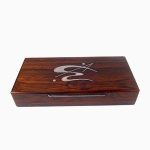 Mid-Century Brazilian Rosewood Box by Axel Salomonsen, 1960s