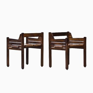 Mid-Century Rosewood Chairs by Jean Gillon for Wood Art, Set of 2
