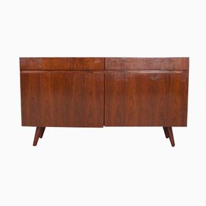 Danish Rosewood Credenza with Splayed Feet, 1960s
