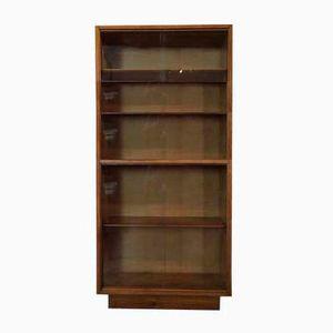 Eichenholz Mid-Century Bücherregal, 1950er