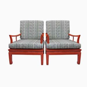 Fauteuils Corail, Chine, 1970s, Set de 2