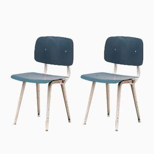 Vintage Revolt Stühle von Friso Kramer für Ahrend de Cirkel, 2er Set