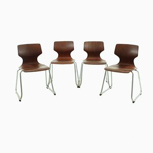 Dining Chairs from Flötotto, 1970s, Set of 4