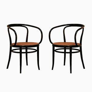 Model 209 Chairs from Thonet, 1973, Set of 2