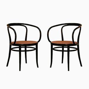 Modell 209 Stühle von Thonet, 1973, 2er Set