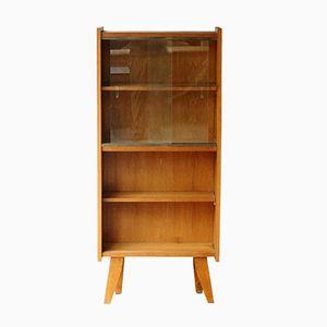 Vintage Oak Veneer Storage Cabinet