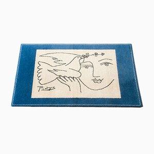 Tapis Pablo Picasso 'Le Visage de la Paix' de Desso, 1997
