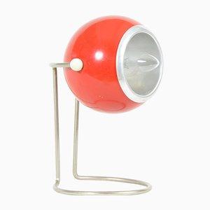 Lampe de Table Rouge, 1970s