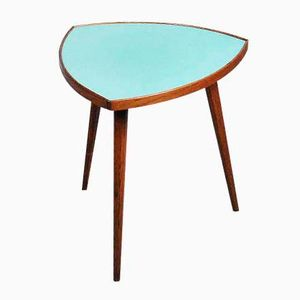 Rosewood Danish Coffee Table with Mint Top, 1960s