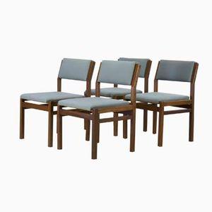 Mid-Century Esszimmerstühle Modell SA07 von Cees Braakman für Pastoe, 4er Set