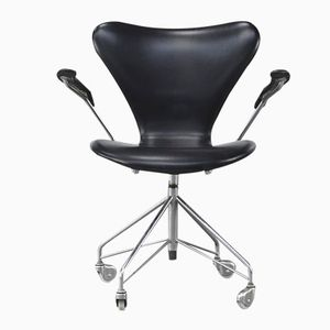 Model 3217 Swivel Chair by Arne Jacobsen for Fritz Hansen, 1950s
