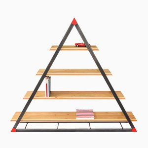 NOON Triangular Bookcase by Dozen Design