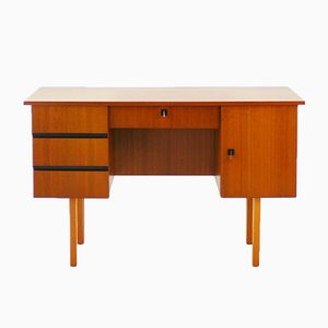 Mid-Century Walnut Desk, 1960s