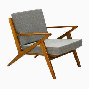 Beech Easy Chair, 1960s