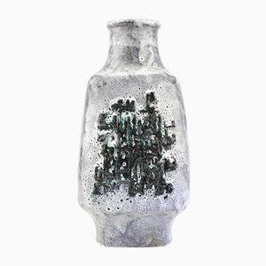 Westdeutsche Fat Lava Vase von Walter Gerhards