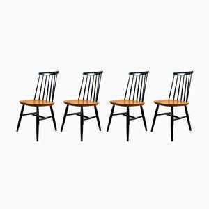 Fanett Chairs by Ilmari Tapiovaara, 1960s, Set of 4