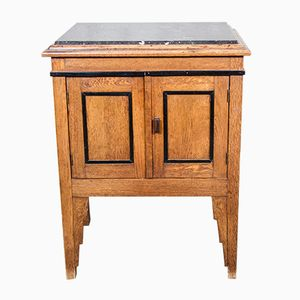 Amsterdam School Oak Cabinet, 1930s