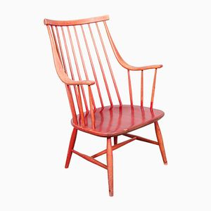 Red Grandezza Armchair by Lena Larsson for Nesto