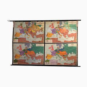 Vintage German Map, 1960s