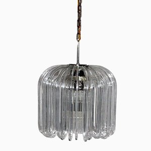 Austrian Glass Chandelier by Cari Zalloni for Bakalowits, 1960s